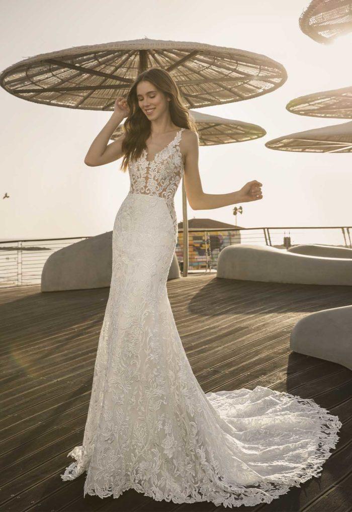 Pnina Torna esküvői ruha 2102